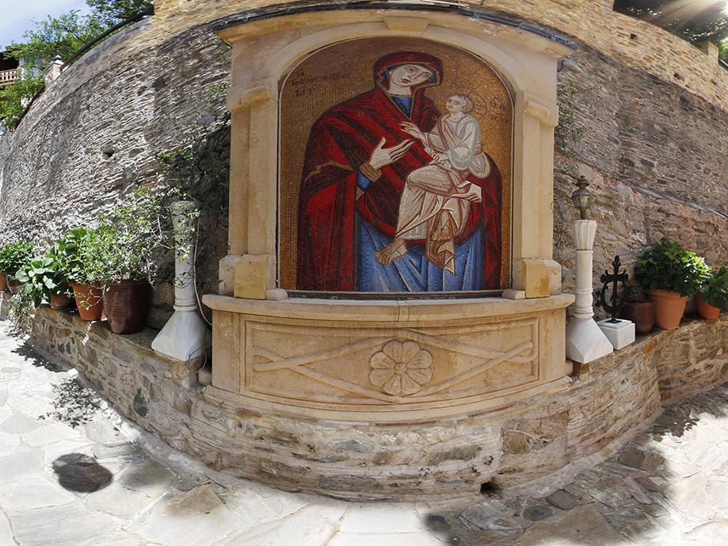 Αποτέλεσμα εικόνας για ιερά μονή δοχειαρίου φώτο